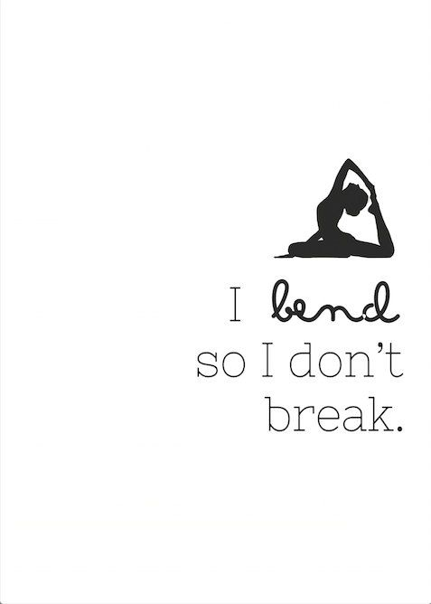 I Bend So I Don't Break Digital Art Printable by LotusAve on Etsy: