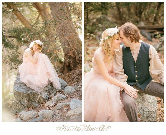 {Steve and Savannah} Enchanted Fairytale Engagement Photos in the Foggy Woods #TrueLove #Fairytale