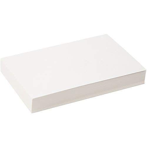 artdee Aquarellpapier DIN A4 200 g//m/² wei/ß 100 Blatt