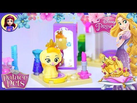 Lego Palace Pets Daisy S Beauty Salon Disney Princess Build Review Silly Play Kids Toys Youtube Palace Pets Lego Disney Princess Kids Toys