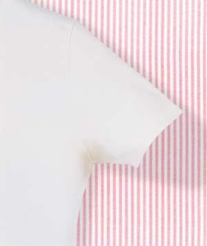 Removing perspiration stains stains home and remove for How to remove yellow armpit stains from white t shirts