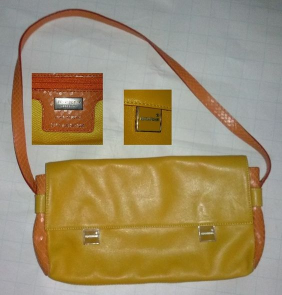 Fendissime  - Orange - Schultertasche