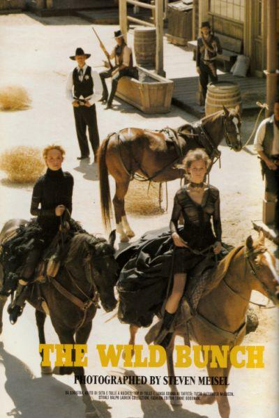 Cinema Vérité for Vogue Italia, October 2002  Shot by Steven Meisel  Styled by Tonne Goodman