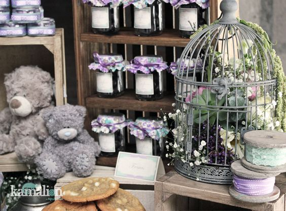 birdcages postres showers love the candy bar rustic baby baby showers