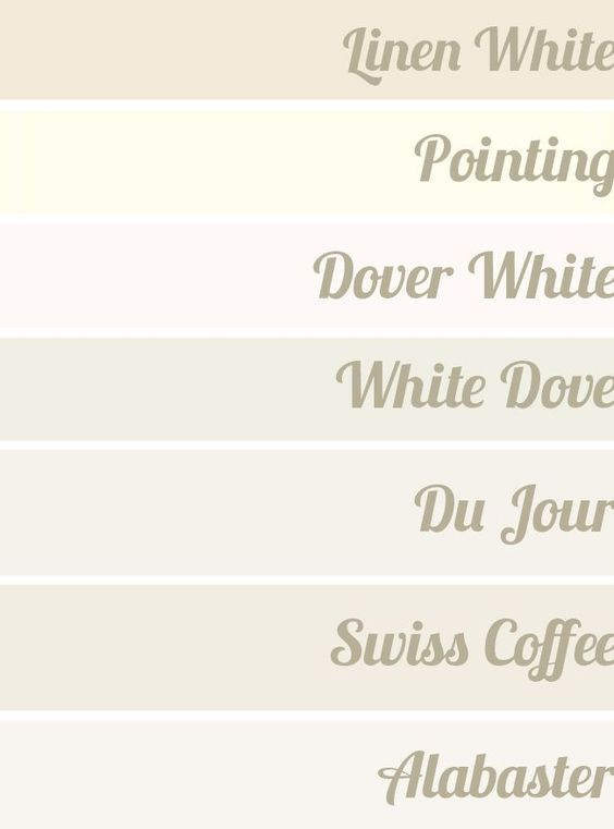 """Designer """"Go To"""" White Paints // The Hunted Interior"""