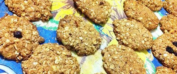 Receita Fit: Cookies Integrais de Aveia e Mel