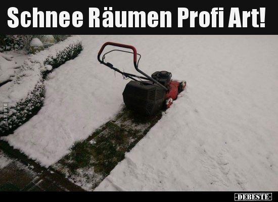 Witze schnee Schnee »