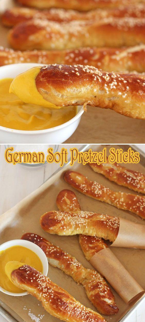 German Soft Pretzel Sticks