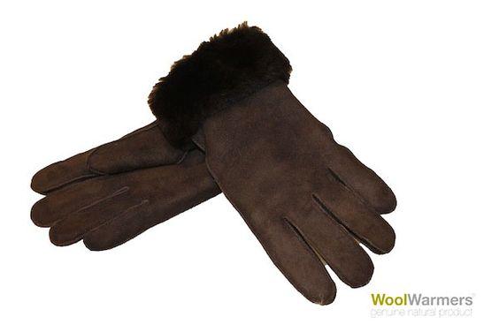 Dames Handschoenen Bruine Dames Handschoenen, Maat XL | Goedkoop bij Het Warme Schaap
