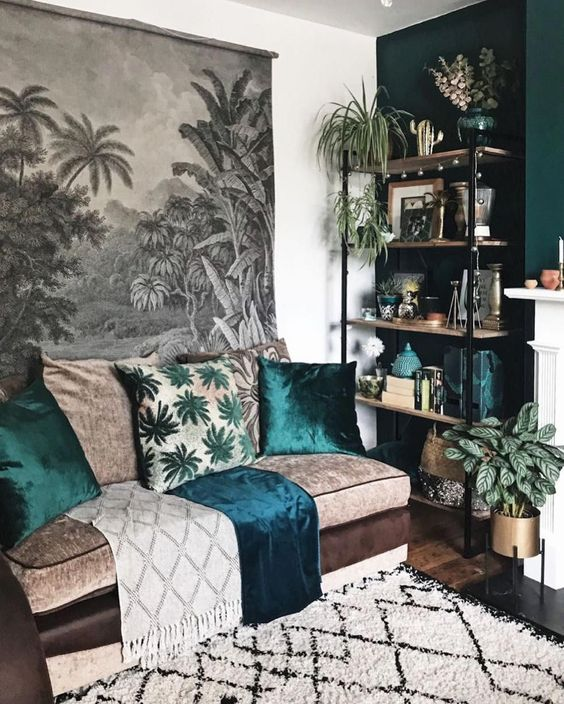 Living room design ideas with rugs