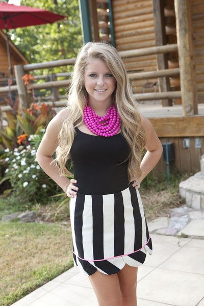 Judith March Chevron skirt. Now available at biminibutterfly.com