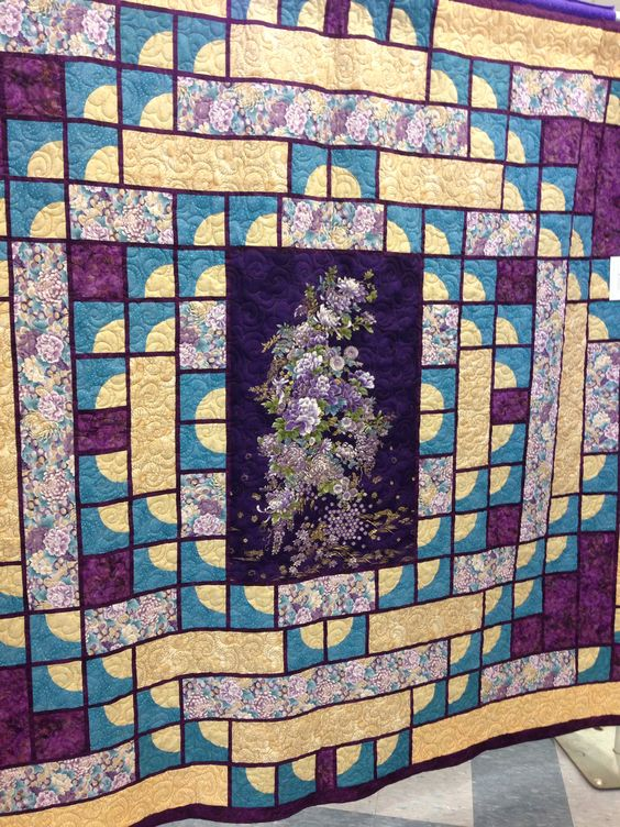 Quilt Guild Demo Ideas : Another great Asian-inspired quilt. Quilt from Burlington Quilt Guild, Burlington, MA Quilts ...