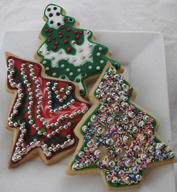 §§§ : christmas tree cookies