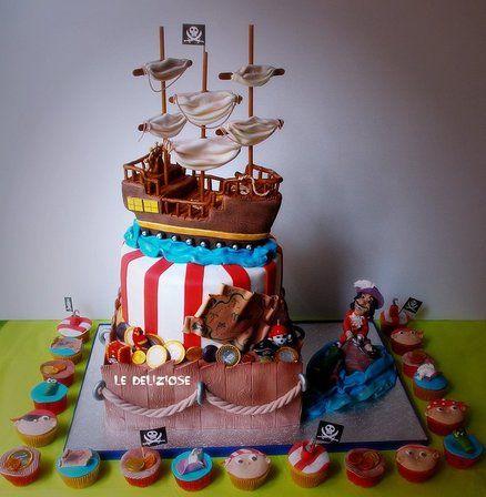 captain hook by ledeliziose cake decorating website sepp 39 s peter pan. Black Bedroom Furniture Sets. Home Design Ideas