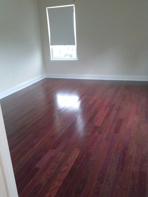 Purple Heart Hardwood Flooring We Bought At Lumber