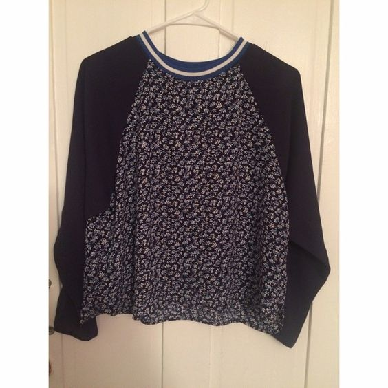 H&M Flower Top NWT//no trades//no pp H&M Tops