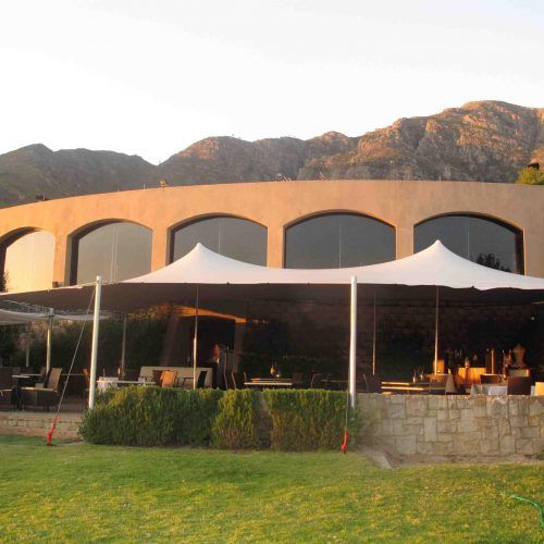 A Restaurant Patio Expansion With A Semi Permanent Tent.