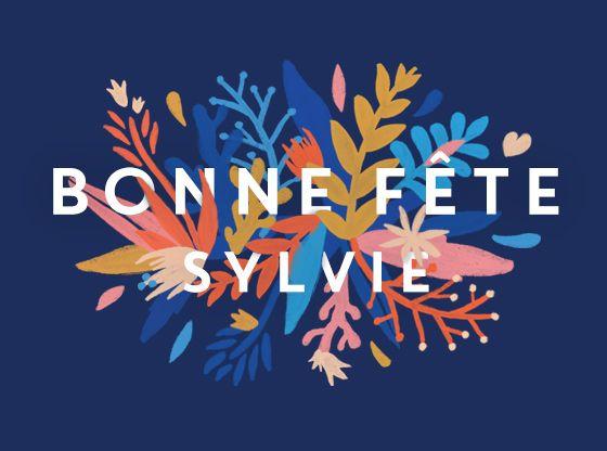 Bonne Fete Sylvie 5 Novembre Carte Virtuelle Bonne Fete Bonne