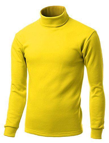 Men Double long sleeve layer Turtleneck T shirts YELLOW size M Xpril http://www.amazon.com/dp/B00PBI5WKY/ref=cm_sw_r_pi_dp_J4nCub12FP6CM