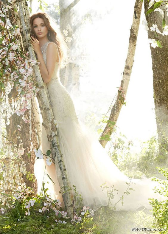 jim hjelm lace wedding dress