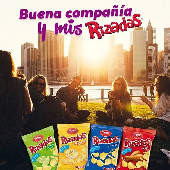 Con amigos y mis #Rizadas es mejor