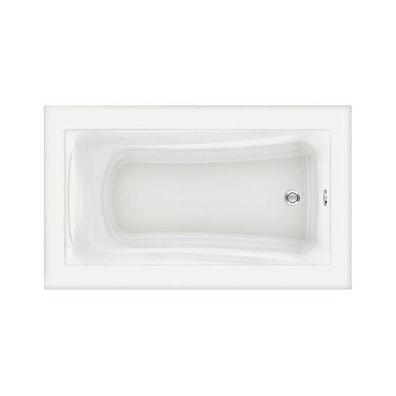 "View the American Standard 3571.002 Green Tea 60"" Acrylic Soaking Bathtub with Reversible Drain - Lifetime Warranty at FaucetDirect.com."