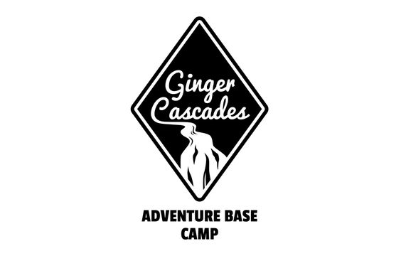 Ginger Cascades Adventure Base Camp Logo