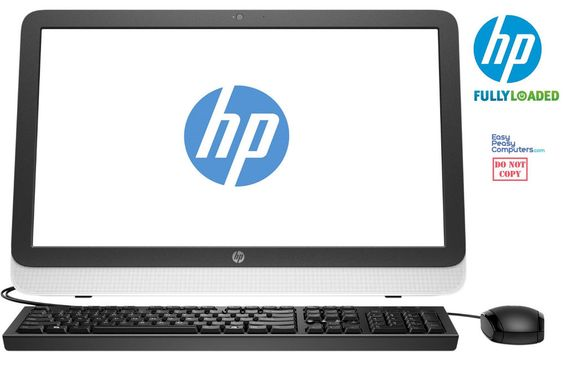 "NEW HP All in One Desktop Computer 23"" Windows 10 WiFi 4GB 500GB (FULLY LOADED) #HP #computer"
