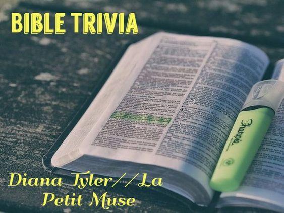 Bible Trivia!