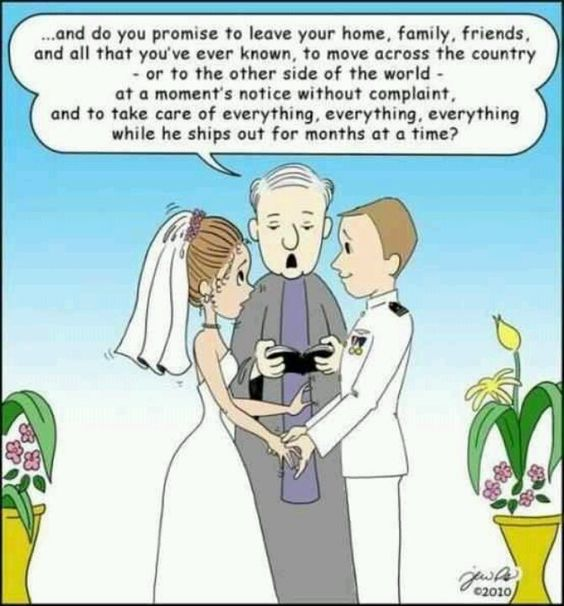 Military Spouse- Only For The Strong