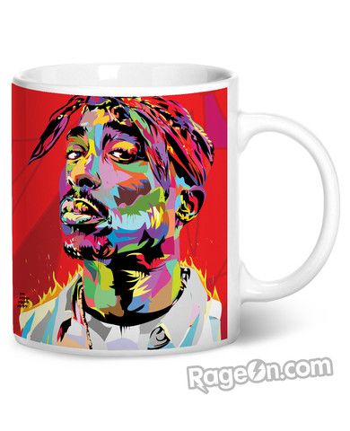 Tupac Coffee Mug - RageOn! - The World's Largest All-Over-Print Online Store