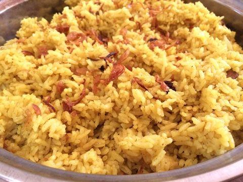 Cara Membuat Nasi Minyak Nasi Samin Khas Palembang Youtube Resep Masakan Ide Makanan Masakan