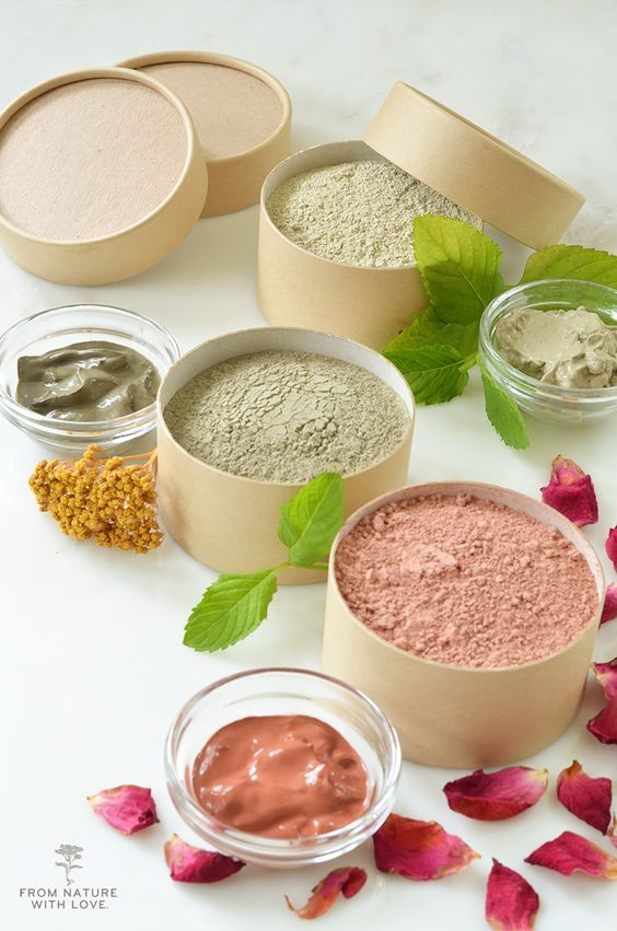 Simple DIY Clay Facial MasksThree Ways