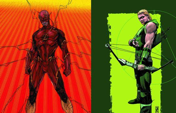 #RSNEWS  •Nuevos trajes se aproximan•  El nuevo look de Flash debutará en el #41 de Brett Booth y Norm Rapmund. Green Arrow en el #41 de Patrick Zircher.  #REDEXSUPREMO
