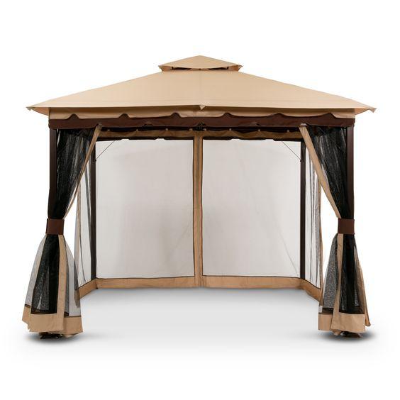 American Signature Furniture Daytona #16: Contest Bali Gazebo With Screen | American Signature Furniture