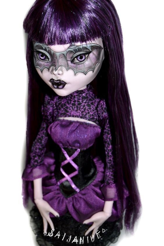 Wings monster high and masks on pinterest - Masque monster high ...