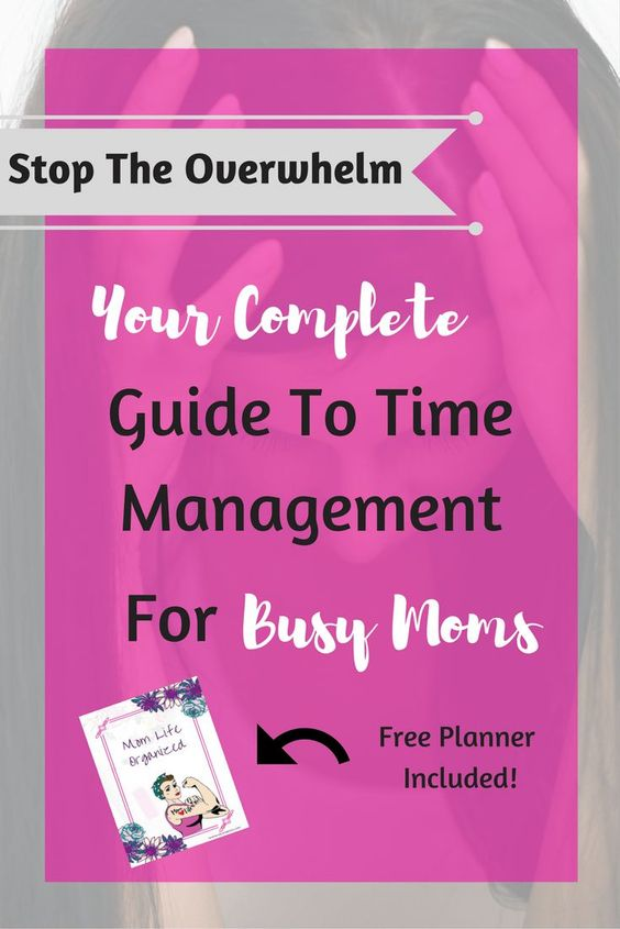 Mom Life Handled! This guide not only steps you through managing everything, it also gives you free planners, yes thats plural! Two free Planners!