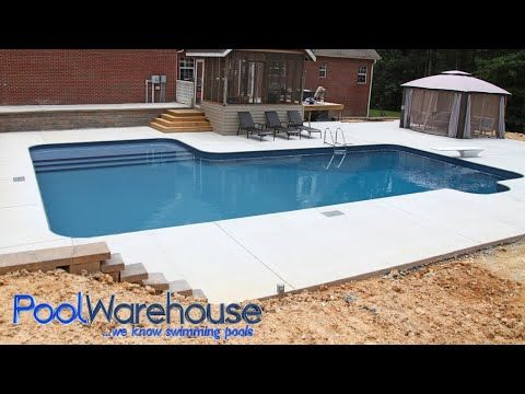 Pool Warehouse Offers Free Shipping On All L Shaped Swimming Pool Kits Pool Warehouse Selling In Ground Pool Kits Swimming Pool Kits Pool Warehouse Pool Kits