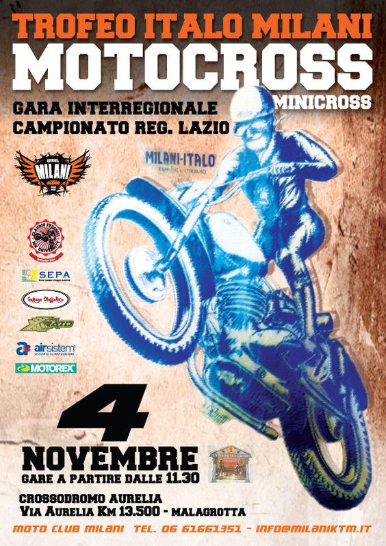 Trofeo Itali Molani di Motocross a Malagrotta