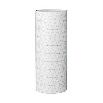 Bloomingville Vase mit Rautenmuster - 26,5cm - Bloomingville
