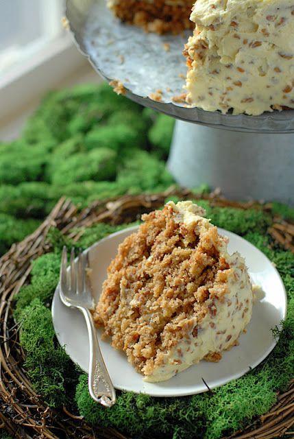 Humming Bird Cake (banana bread and carrot cake together!)