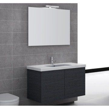 Wrought Studio Jaylin 39 Wall Mounted Single Bathroom Vanity Set