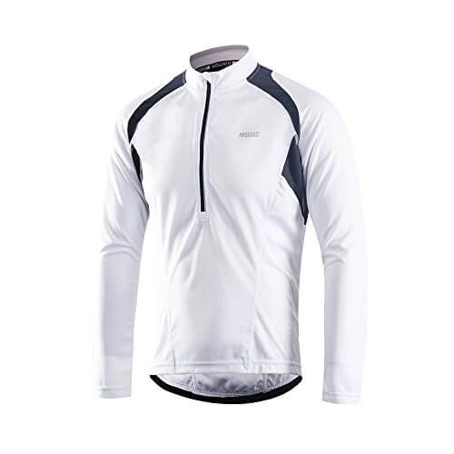 Men/'s Long sleeve Cycling jersey quick dry half zipper bike tops bicycle Shirt