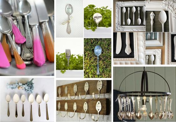 Who would have thought there were so many ways to reuse spoons!