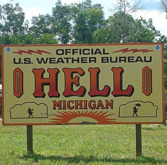 You live where? Ever heard of Boring, Maryland or Hell, Michigan, or Intercourse, Pennsylvania? America has some very peculiar names for towns and cities.