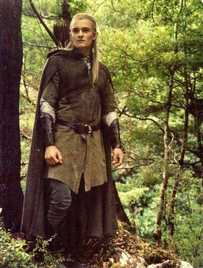 Orlando Blooms Elf costume.: