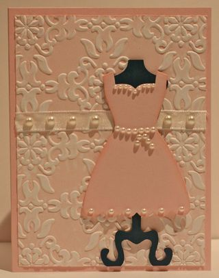 Dress Form #SU #Stampinup  I LOVE this dress form bundle!
