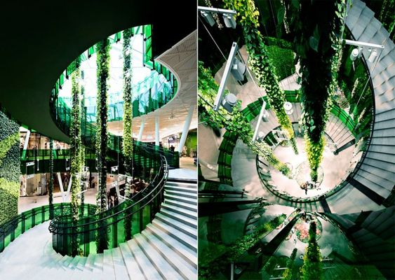 Trippy Mall Pushes the Limits of What Glass Can Do | Wired Design | Wired.com
