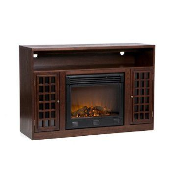 Sei Narita Media Console With Electric Fireplace Home Living Pinterest