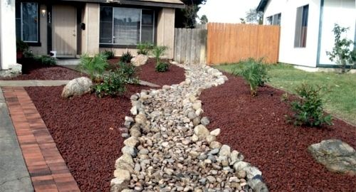 Front Garden Design With Gravel You Want To Give A Striking Front Yard Front Yard Landscaping Pictures Stone Landscaping Front Garden Design